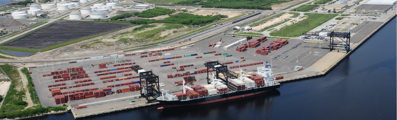 Tampa Port Hitech Freight